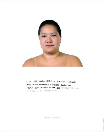 the hapa project Artist kip fulbeck continues his hapa project, begun in 2001, photographing  people who identify as being of mixed race his original portraits.